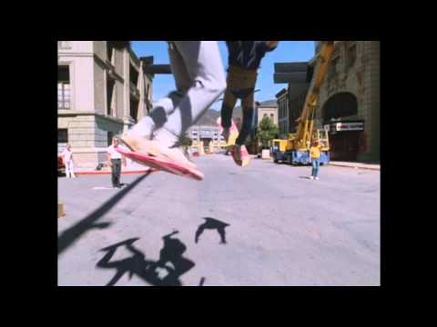Back to the Future II: Extra - Hoverboard Tests