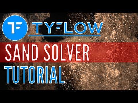 tyFLOW Tutorial - Sand Granular Solver (3DS Max 2019 VFX)