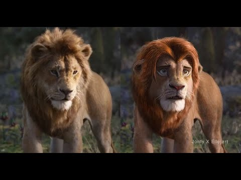 """I used """"deep fakes"""" to fix the Lion King"""