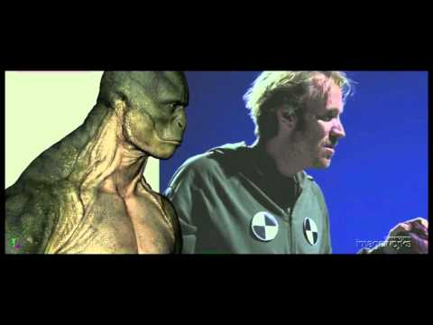 The Amazing Spider-Man: Making of The Lizard Shot