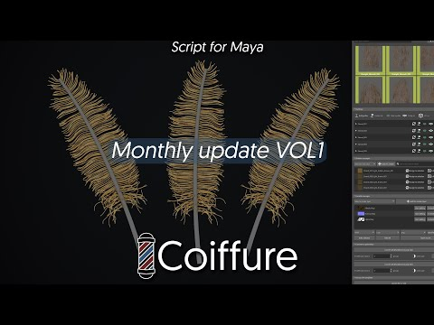 Coiffure - Monthly update VOL 1 - Feathers !