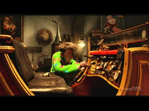 "Arthur Christmas- ""Unwrapped"" Shot Build"