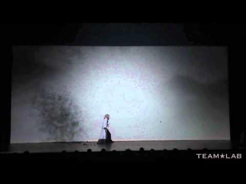 早乙女太一☓チームラボ [吉例]新春特別公演「龍と牡丹」-剣舞/影絵-