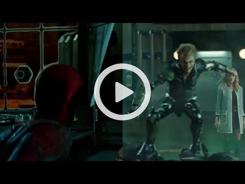 The Amazing Spider-Man 2 - The Villians Animation Shot Build