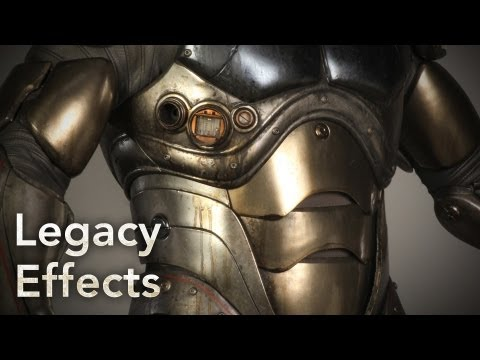 PACIFIC RIM Behind The Scenes: The Pilot Suits - Legacy Effects