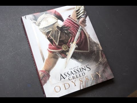 The Art of Assassin's Creed Odyssey (book flip)