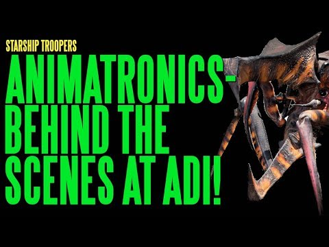 STARSHIP TROOPERS Animatronics Behind The Scenes ADI BTS
