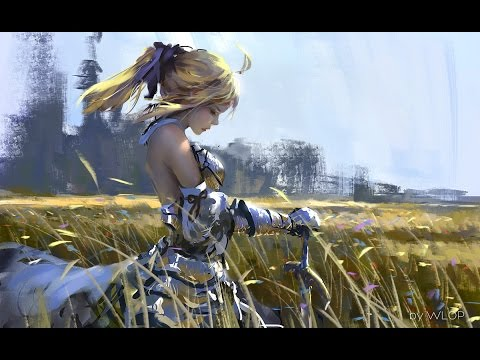 Painting tutorial - Saber Lily