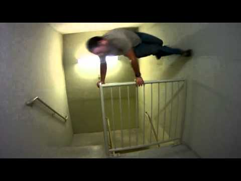Jason Martinsen - Stair Animation Demo - Video Reference 12fps 2/5