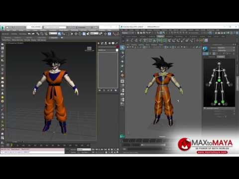 MaxToMaya - Features