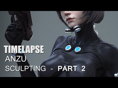 Gantz Anzu - Body- Pose - Detailing (Fan Art) -part 2