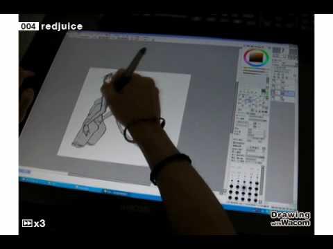 イラストレーター redjuice - Drawing with Wacom (DwW)