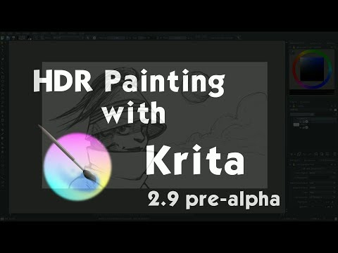 HDR painting with Krita 2.9 pre-alpha