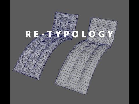 Retopology Maya 2016