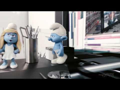 The Smurfs- Building and Lighting a CG Smurf