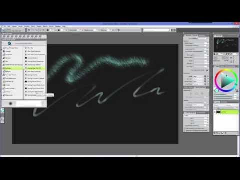 Physics Inspired Particle Brushes Tutorial