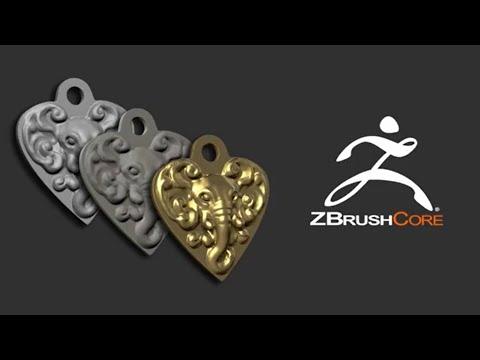 ZBrushCore - Joseph Drust - Key Chain for 3D Printing