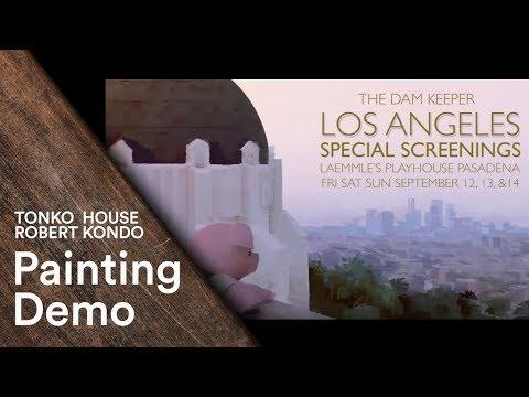 Photoshop: Robert Kondo's Painting Demo - Tonko School (#002)