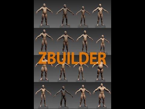 Human ZBuilder v1