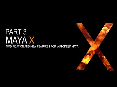 Maya X - Part3 Realtime Remesh - Auto Merge and Extrude