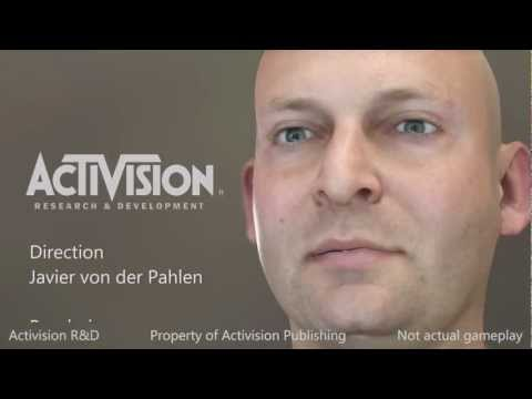 Activision R&D Real-time Character Demo