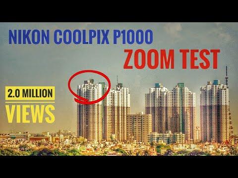 Nikon Coolpix P1000 Zoom Test   South City Complex Kolkata