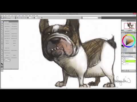 Inspirational Brushes Speed Drawing
