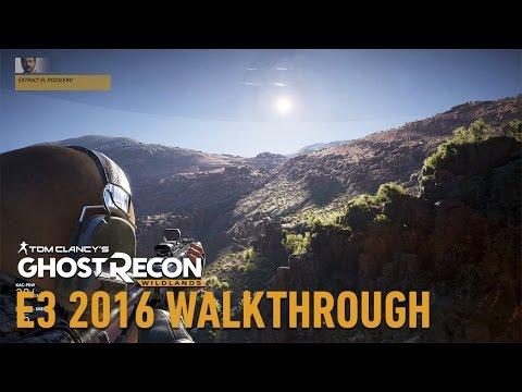 Tom Clancy's Ghost Recon Wildlands Gameplay Walkthrough: El Pozolero Takedown Mission - E3 2016