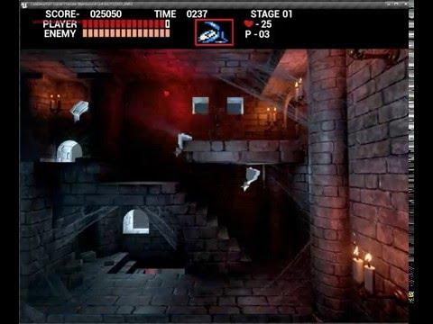 Castlevania level 1 made in unreal