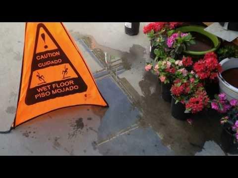The Danger of Wet Floors