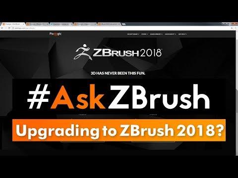 """#AskZBrush - """"How can I upgrade to ZBrush 2018?"""""""