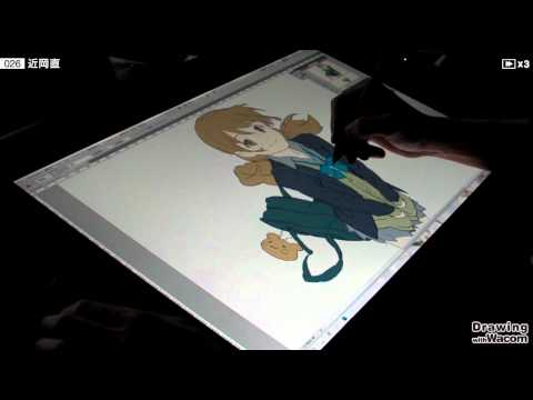 アニメーター 近岡 直 - Drawing with Wacom (DwW)