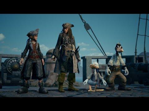 【KINGDOM HEARTS III】E3 2018 Trailer vol.3