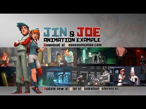 Jin & Joe Animation example