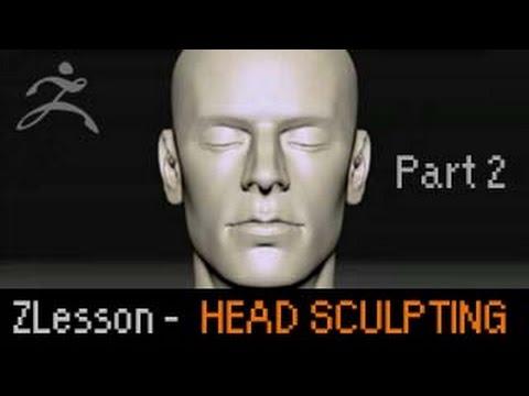 Zbrush Lesson: Head Sculpting Basics p2