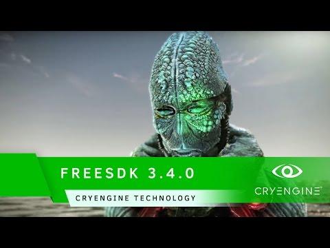 FREESDK 3.4.0 Trailer | CRYENGINE Technology