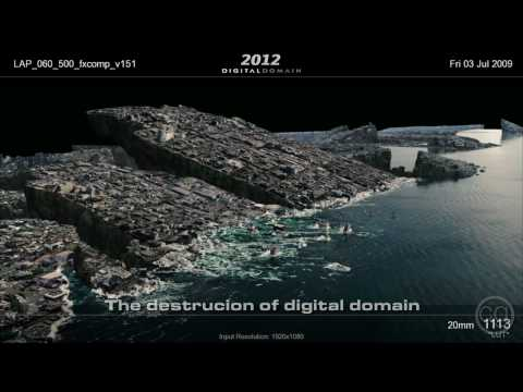 2012 Behind the Scenes with Digital Domain Part 4