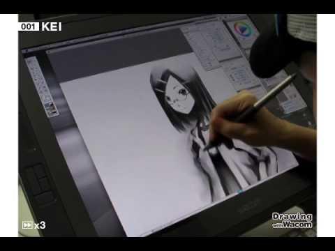 イラストレーター KEI - Drawing with Wacom (DwW)