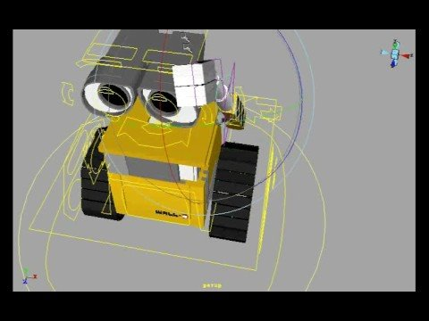 my WALLE rigging demo