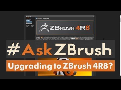 "#AskZBrush: ""How can I upgrade to ZBrush 4R8?"""
