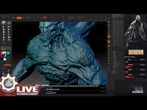 Nightstalker: Frost walker- Zbrush [Part2]