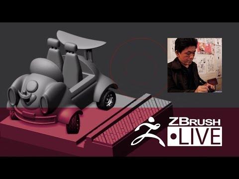 Fukui Nobuaki - ZBrushCore 超入門講座 出張LIVE - Episode 1 (In Japanese)
