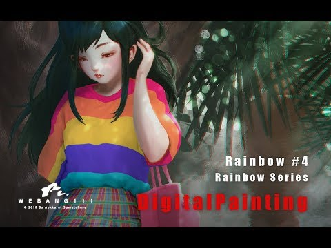 Rainbow #4 [Digital Painting]
