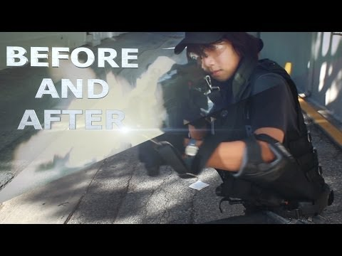 VFX Test: Before and After