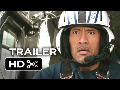 San Andreas Official Trailer #1 (2015) - Dwayne Johnson Movie HD