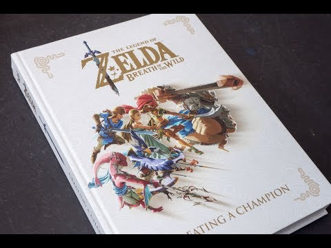 (book flip) The Legend of Zelda: Breath of the Wild – Creating a Champion