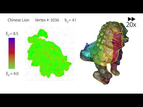 [SIGGRAPH Asia 2018] OptCuts: Joint Optimization of Surface Cuts and Parameterization