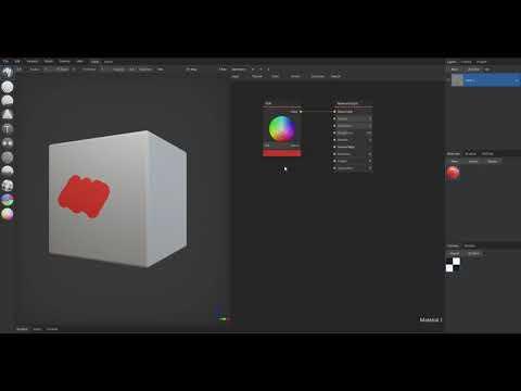 Set Material Color | ArmorPaint