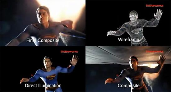 スーパーマンリターンズ メイキングムービー