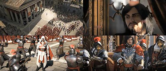 ゲーム『Assassin's Creed: Brotherhood』のトレーラー